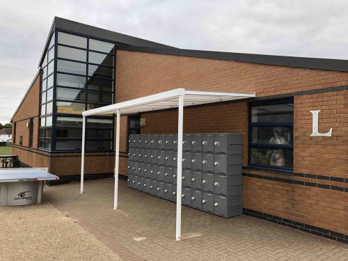 New Canopies and Lockers