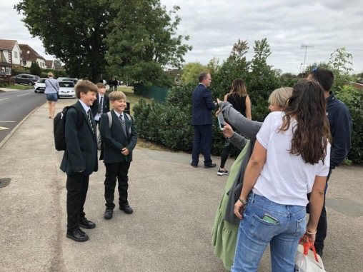 Year 7 have a Fantastic First Day!