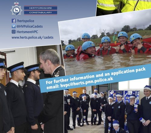 Hertsmere Cadets Groups