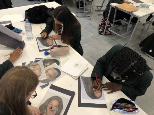 Art lessons inspired by Black History Month