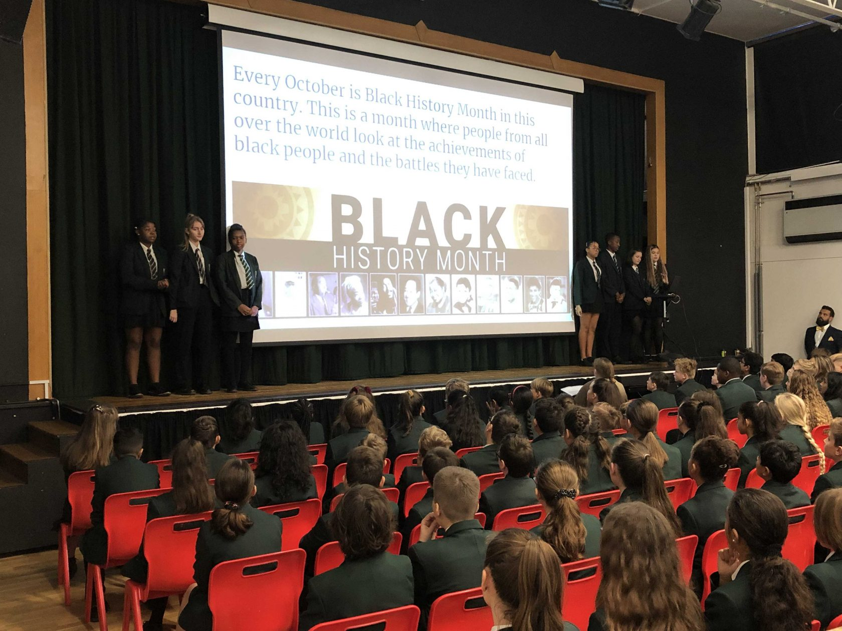 Inspirational Assembly Celebrating Our School Having a Mind to Be Kind