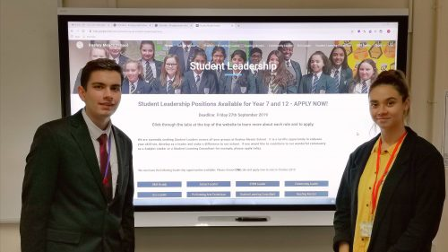 Exemplary Student Leadership putting Bushey Meads on the national map