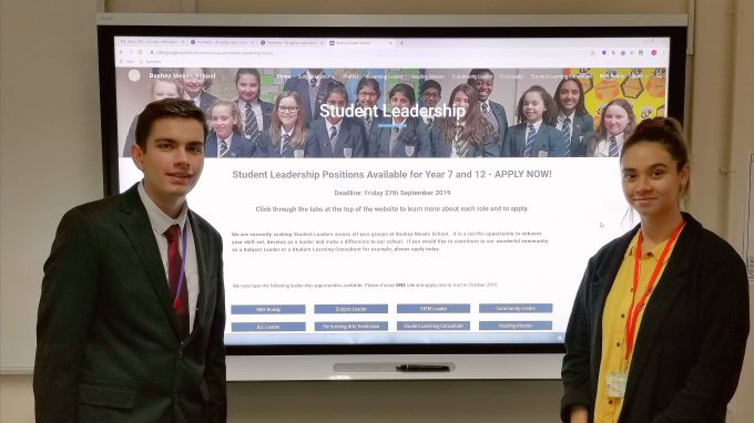 Exemplary Student Leadership Putting Bushey Meads On The
