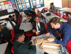 Maths Games Club has its first 'guest appearance' of the year