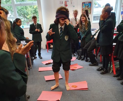 Year 7 Face Ordeal by Baked Beans