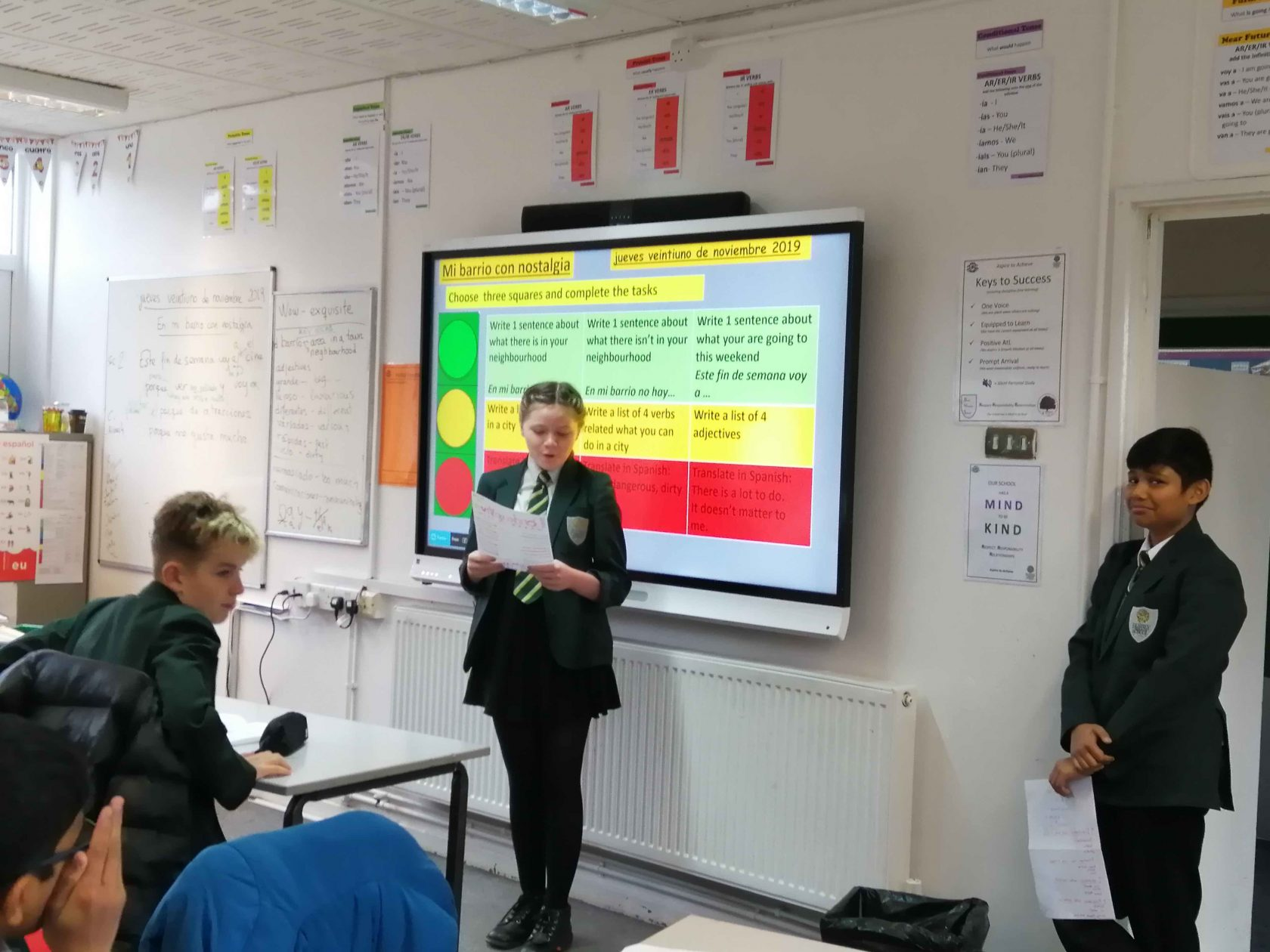 Great presentations in Spanish!