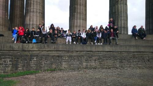 Art GCSE Trip to Edinburgh