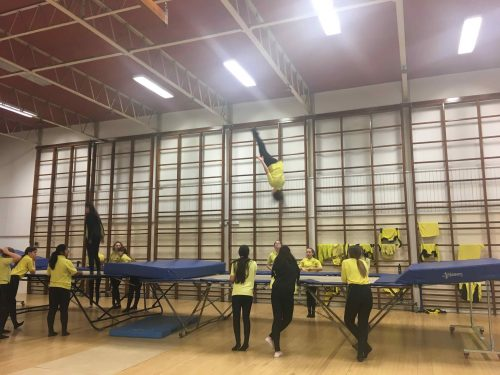 Trampolining Competition