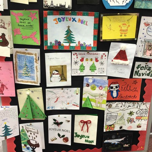 Year 7 MFL Christmas Card Competition