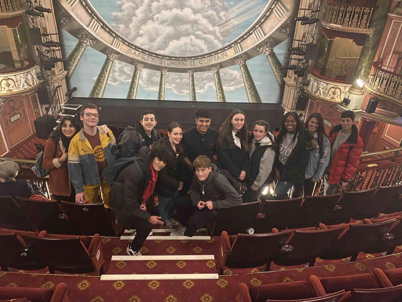 'An Inspector Calls' Year 10 Theatre Trip