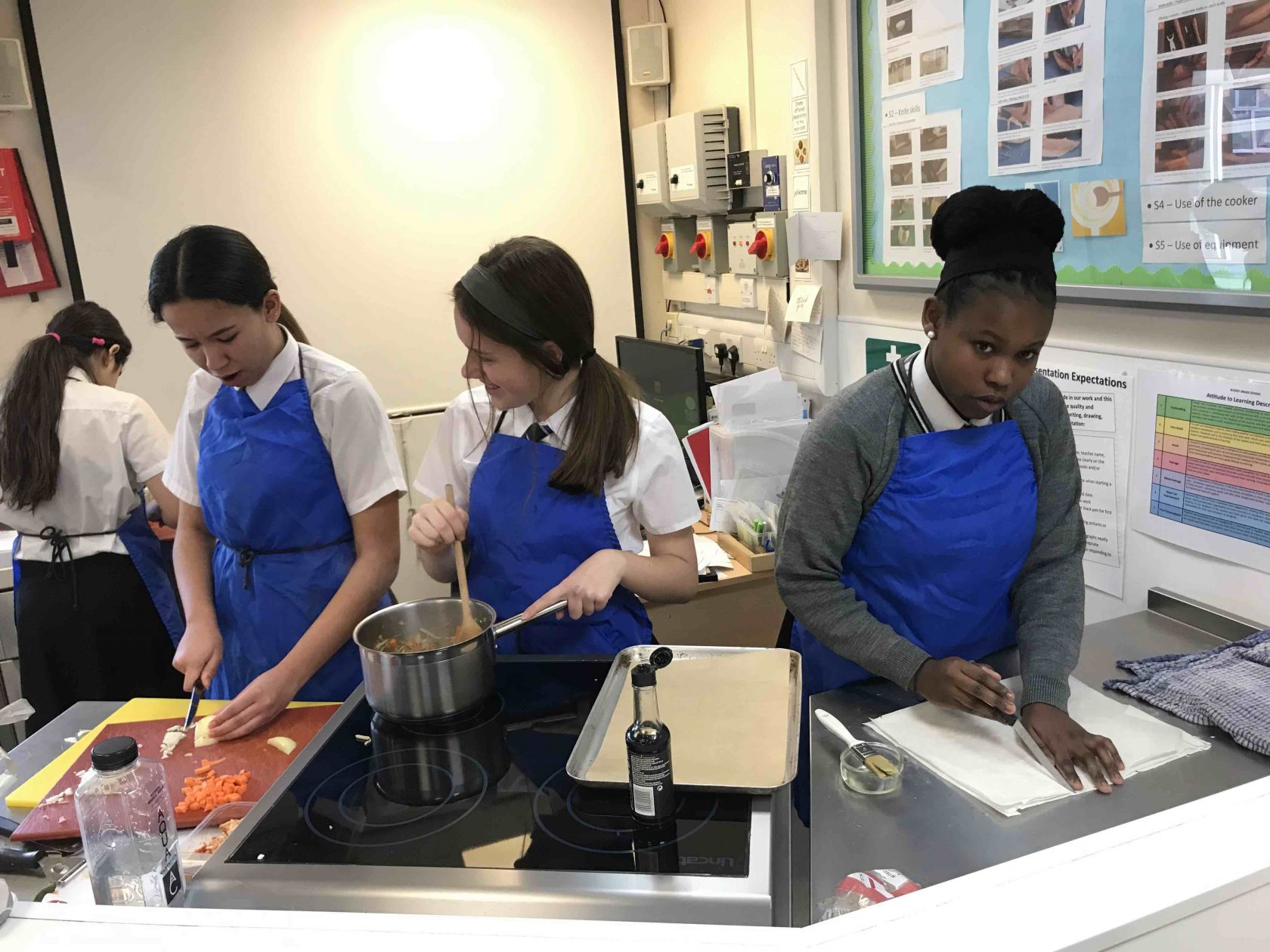 Year 9 Food students Cook off 2019