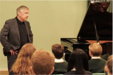 A Piano Masterclass at Bushey Meads School