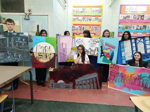 Year 11 Art PPE Success!