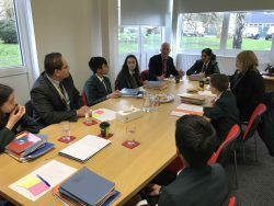 Students attend SLT Meeting to discuss Marking and Feedback