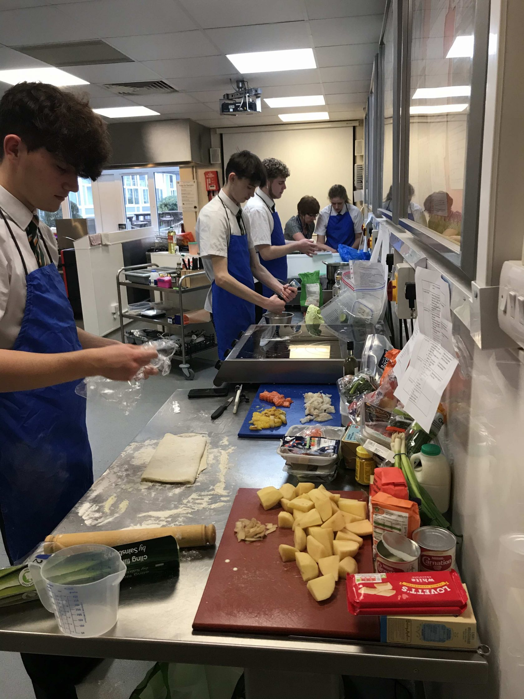 The Year 11 Food Preparation and Nutrition GCSE Final food assessment