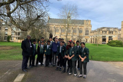 Year 8 Maths Trip to Oxford University