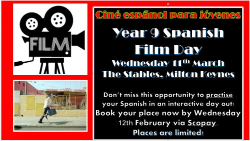 Year 9 Spanish Film trip