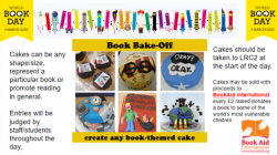 WORLD BOOK DAY BUSHEY MEADS BAKE OFF