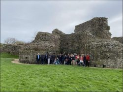 Pevensey Castle/Battle Abbey