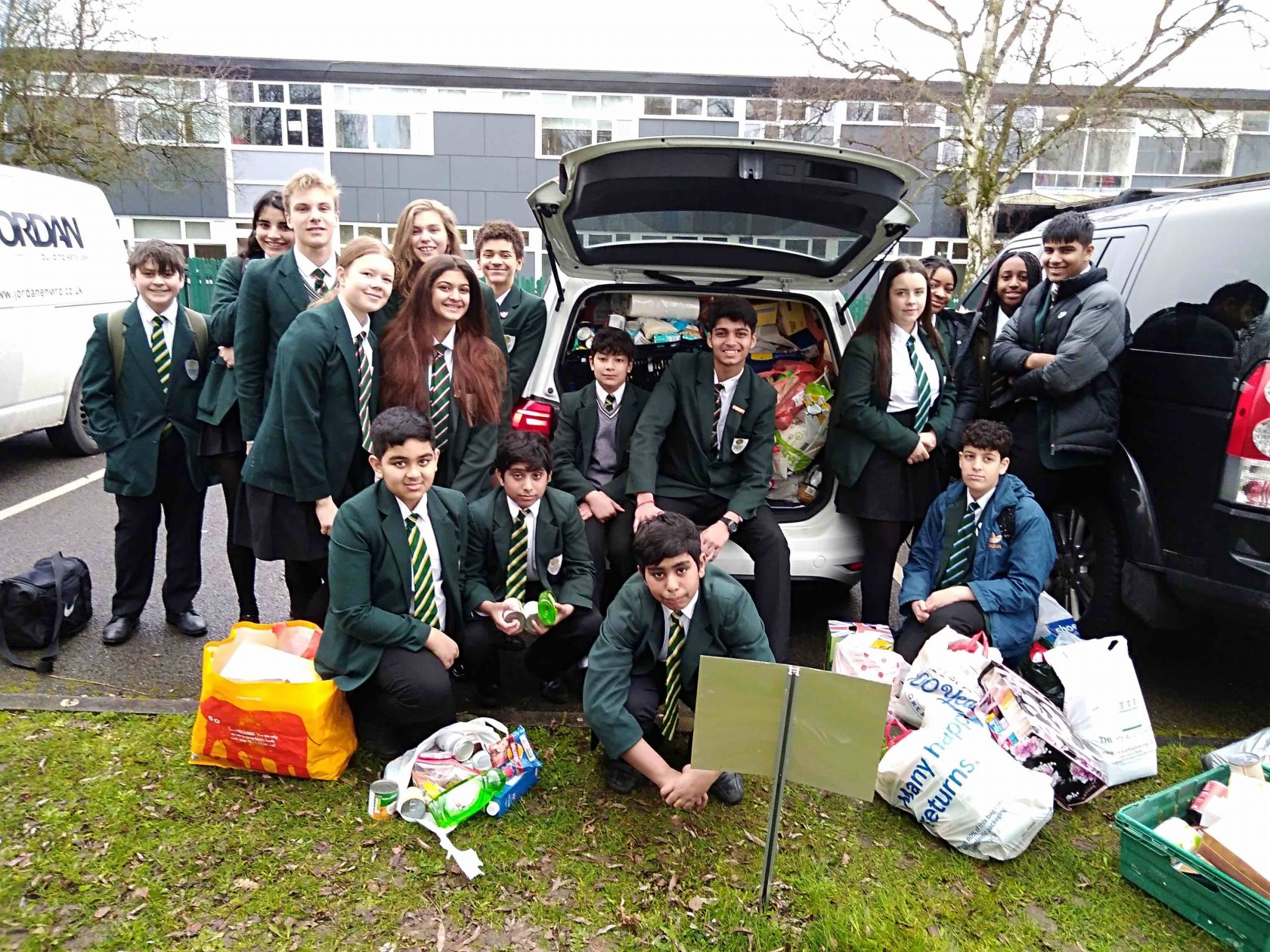 Food bank collection a big success