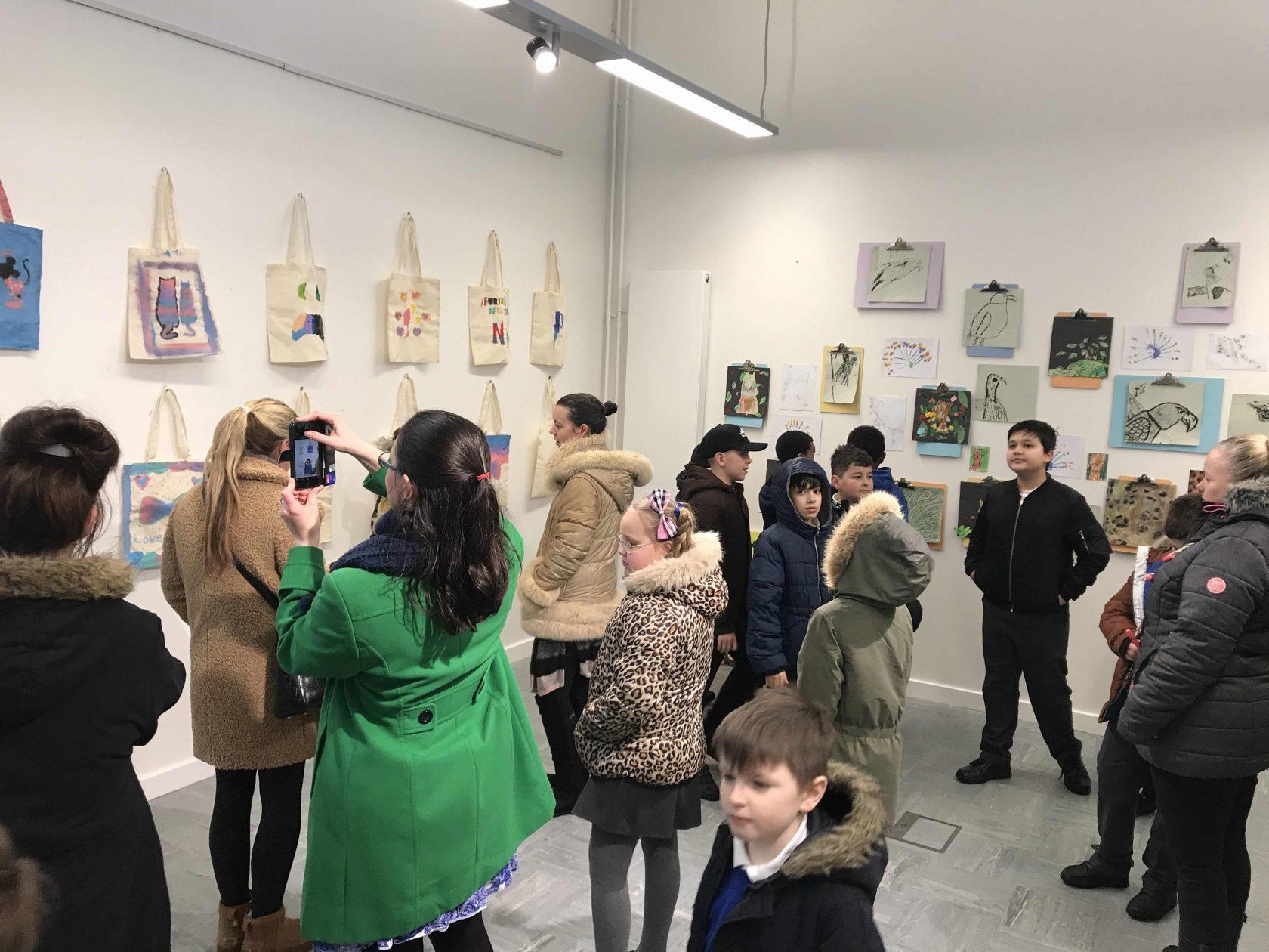 Hartsbourne and Little Reddings visit The BSJT Gallery