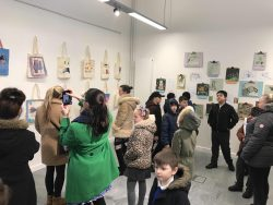 Hartsbourne and Little Reddings visit The BSJT Gallery