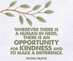 Kindness Can Make a Difference