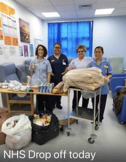 Lunch for local NHS Heroes…