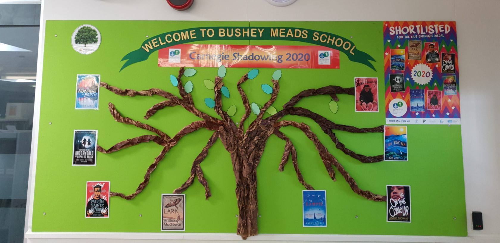 Bushey Meads Readers' Famous Moment
