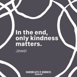Kindness Thought of the Week