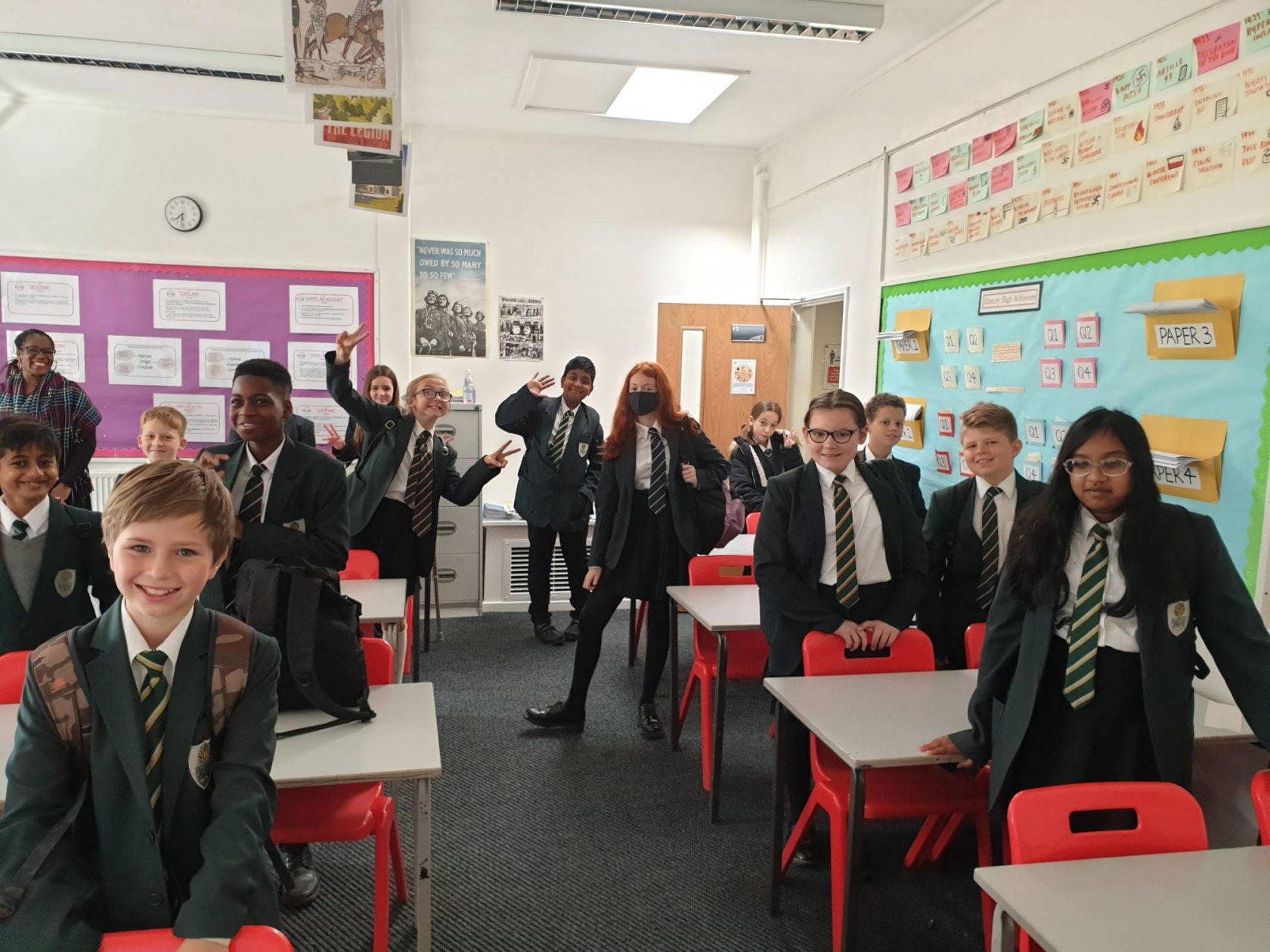 Celebrating Humanities in Year 7