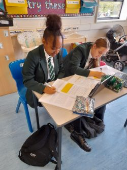 Year 10 begin their learning journey in Childcare!