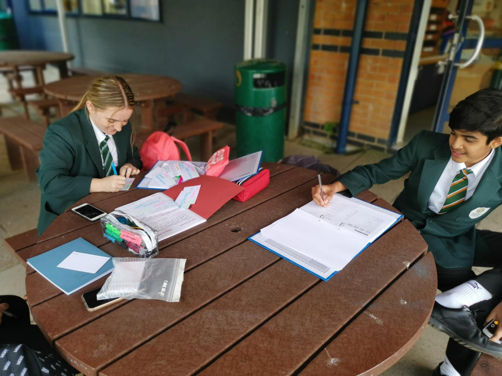 Year 11s striving for success…