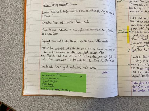 An Excellent Dialogue of Marking and Feedback to Support Great Progress