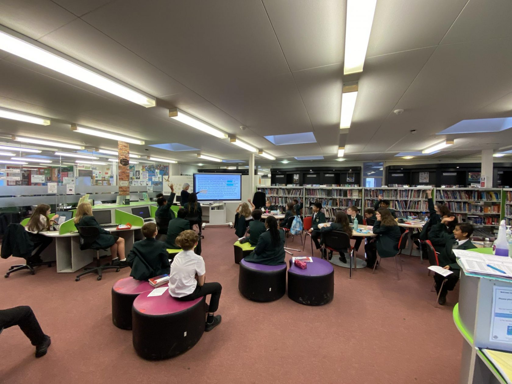 Great Engagement in the LRC