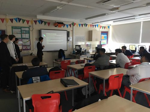 Year 12 students perfect their presentation skills