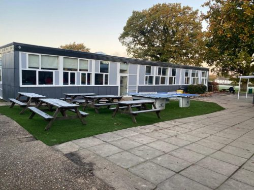 Smart Astro Turf Area for Our Year 7 Outdoor Area