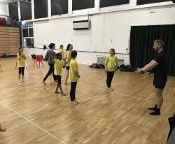 Multi Trust Dance Company led by Mr Kaye