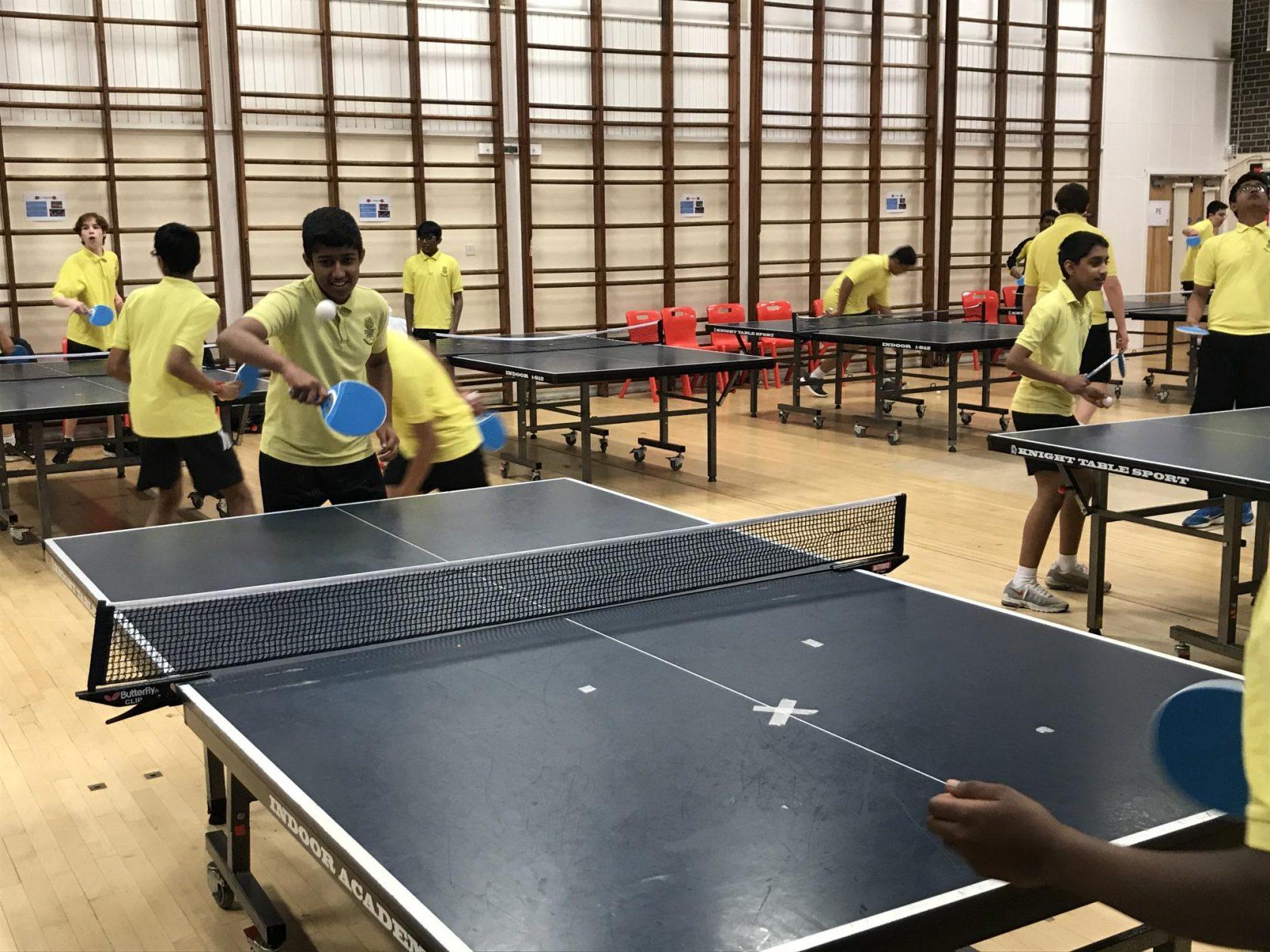 Terrific Table Tennis