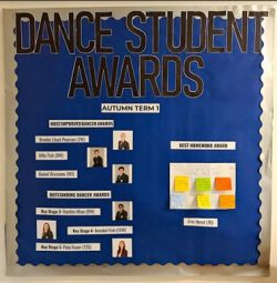 Dance Student Award Winners!