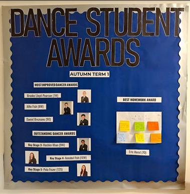 Dance Student Award Winners!