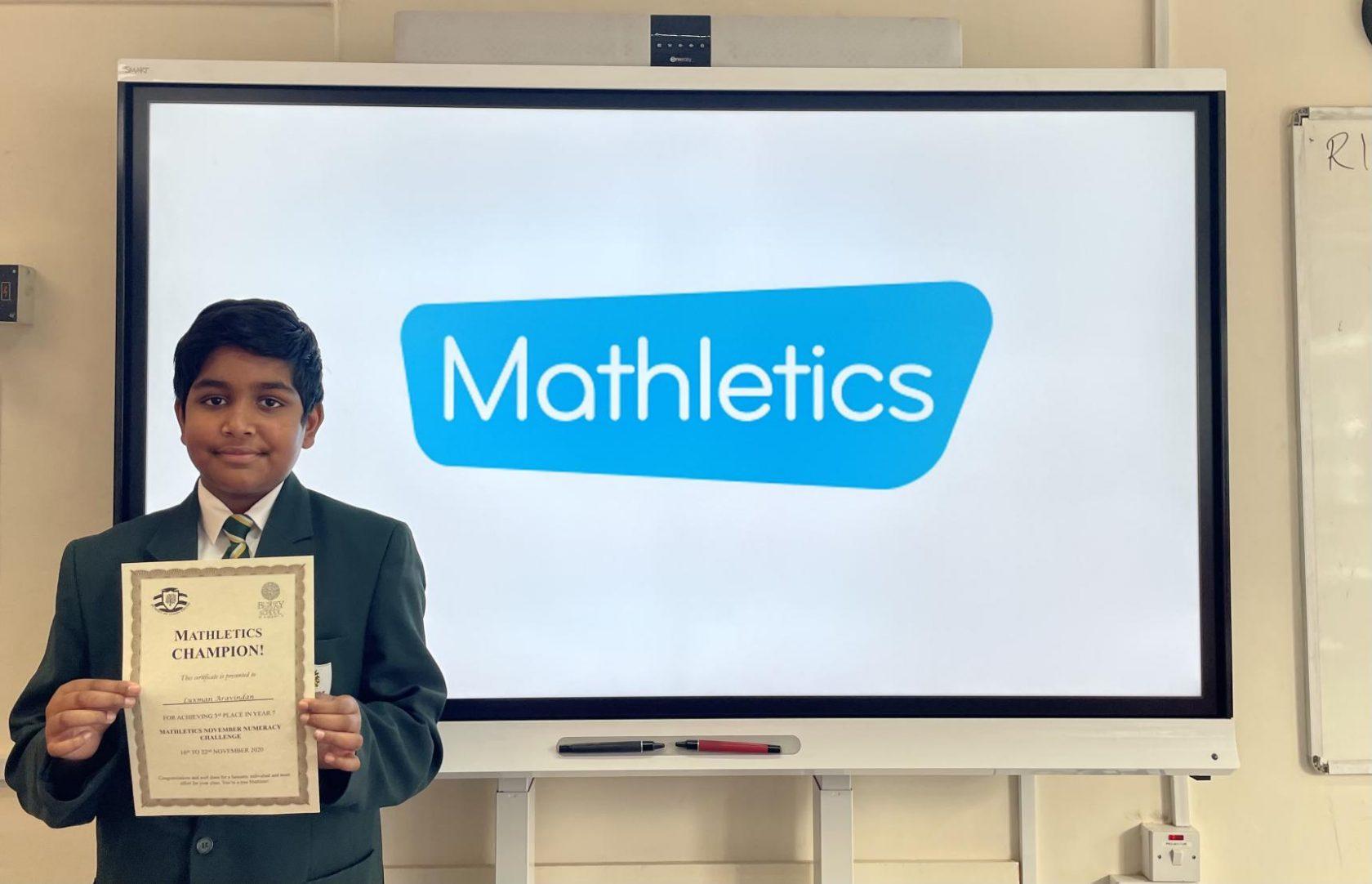 Mathletics Success!