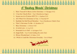Music Department Christmas CD