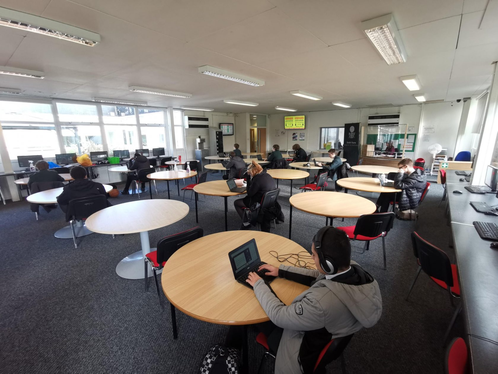 Year 11 students get a taste of the 'Outstanding' BMS Sixth Form