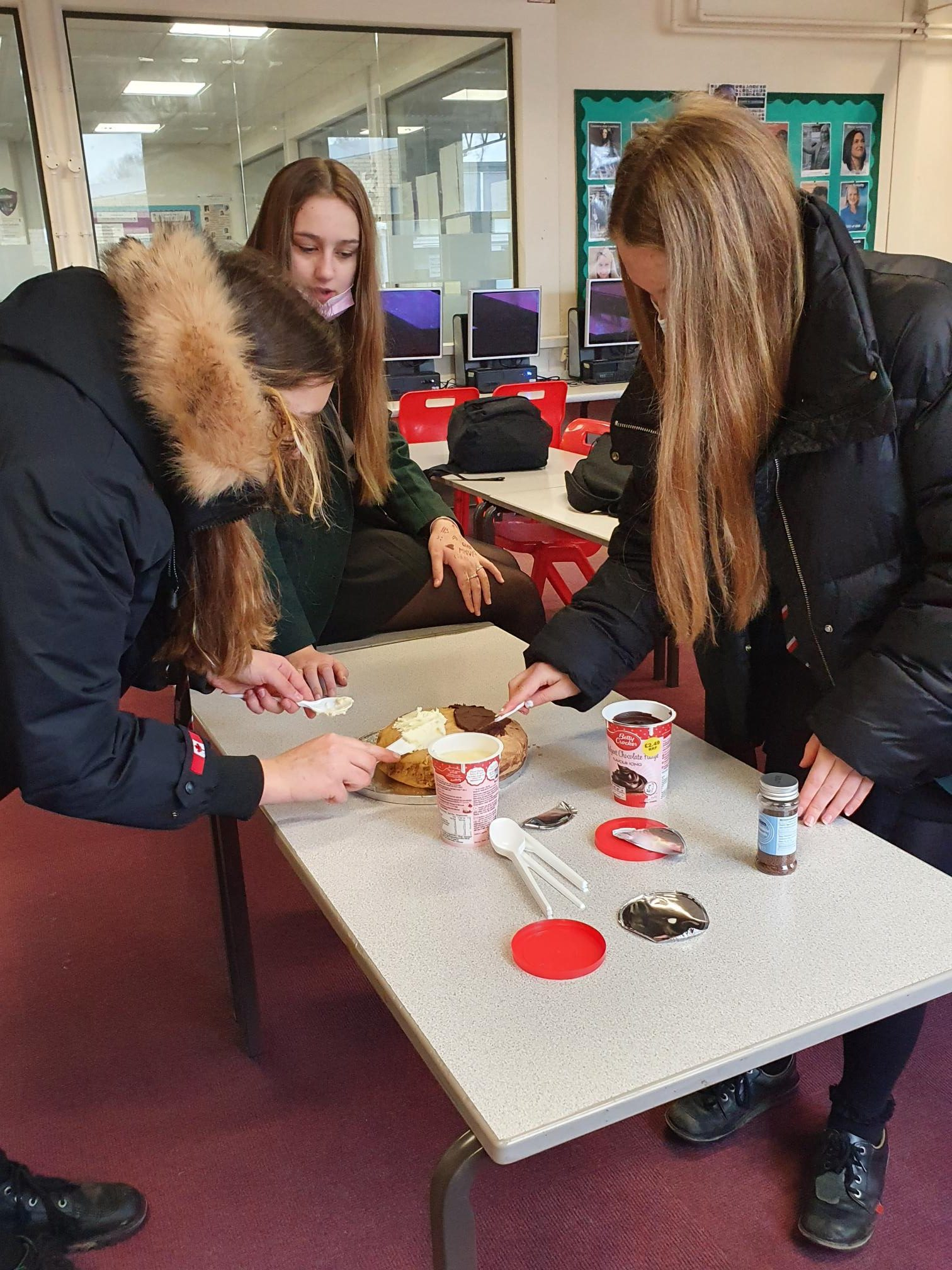 Year 10 taking part in World Book Day Bake Off