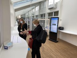 Public Health Lead visits BMS Lateral Flow Testing Centre to see Exemplary Practice