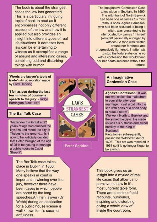 Laws Strangest Cases