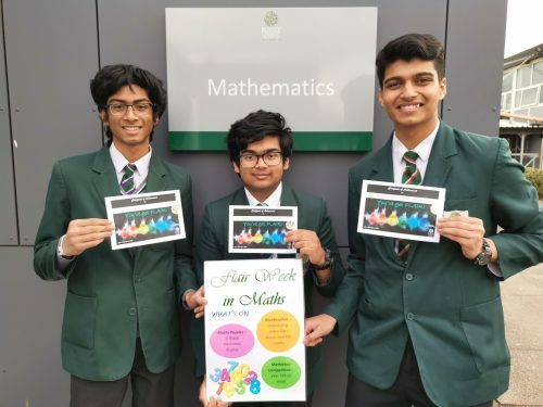 Student Leaders show FLAIR in Maths…