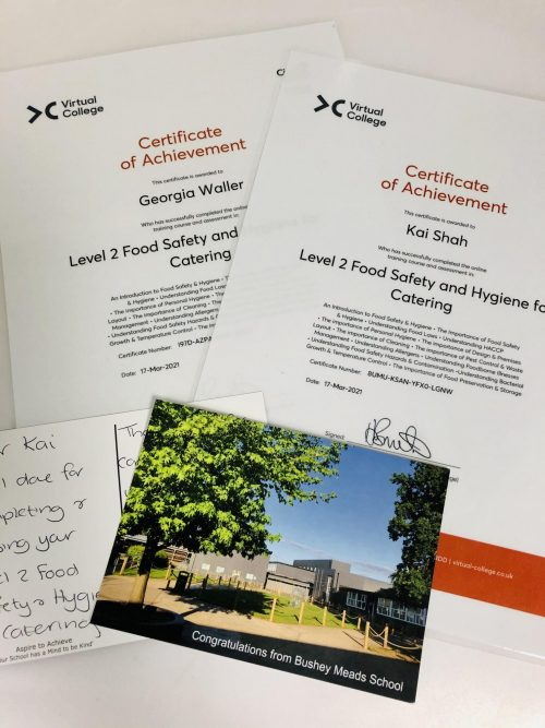 Online Food Safety and Food Allergy training for Year 13