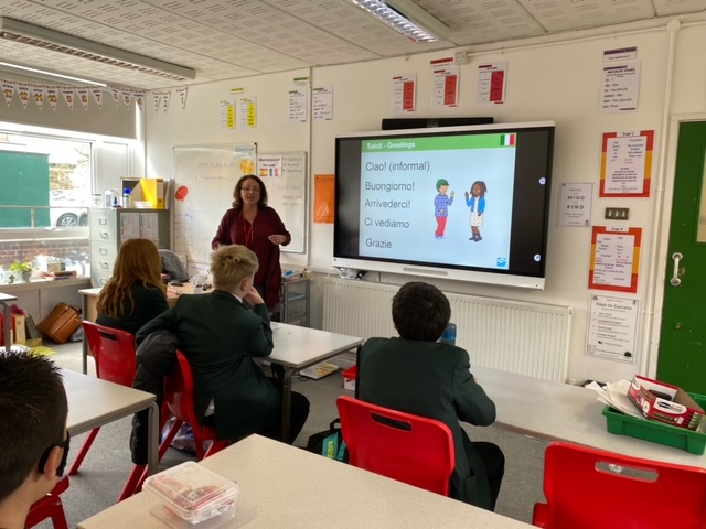Mama Mia… A new Italian club has started for Year 7!